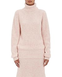 Orley - English Rib-knit Cashmere Turtleneck Sweater - Lyst