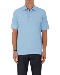 Ermenegildo Zegna - Piqué Polo Shirt - Lyst