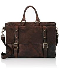 Campomaggi Double-handle Briefcase - Brown