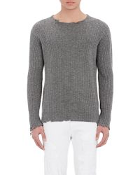 RTA - Distressed Cashmere Sweater - Lyst