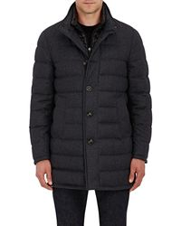 Moncler - Wool Down-quilted Coat - Lyst