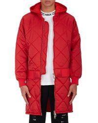 Hood By Air - Against Hooded Jacket - Lyst