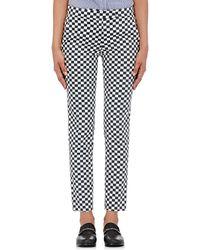 Harvey Faircloth - Checked Twill Pants - Lyst