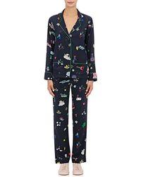 Mira Mikati | Toy-print Silk Pajama Set | Lyst