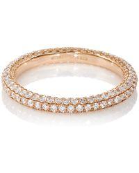 Sidney Garber - White Diamond Threadband - Lyst