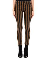 Haider Ackermann | Vertical Striped Denim Pants | Lyst