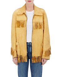 Icons - Fringed Leather Jacket - Lyst
