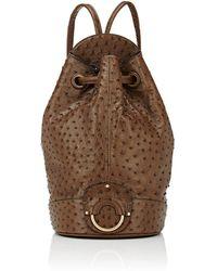 Ghurka - Burma Ostrich Backpack - Lyst