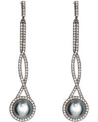 Monique Pean Atelier - Interlocking Drop Earrings - Lyst