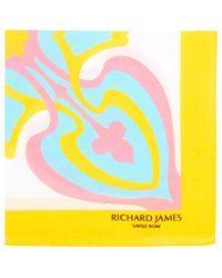 Richard James Deco-cross - Yellow