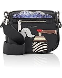 Marc Jacobs Nomad Small Saddle Bag - Black