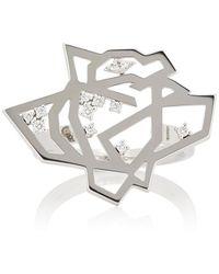Tasaki - Thorn & Rose Ring - Lyst
