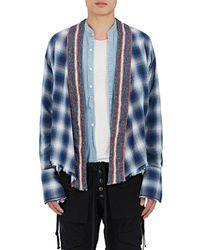 Greg Lauren - Kimono-style Cotton - Lyst