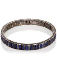Nak Armstrong - Lapis Lazuli Tile Bangle - Lyst