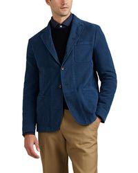 Boglioli - Galleria Cotton Moleskin Three-button Sportcoat - Lyst