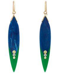Mark Davis - Bakelite & Mixed-gemstone Drop Earrings - Lyst