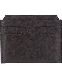 Valextra - Flat Card Case - Lyst