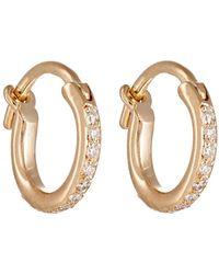 Ileana Makri - Huggie Hoop Earrings - Lyst