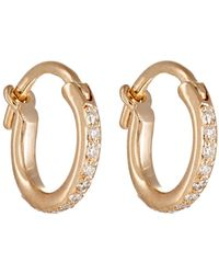 Ileana Makri - Huggie Hoop Earrings - Lyst
