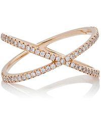 Eva Fehren Fine Shorty Ring Size 8 - Metallic