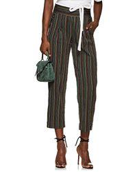 Ace & Jig - West Side Striped Cotton Pants Size Xs - Lyst