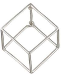 Shihara - 3d Square Earring - Lyst