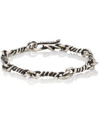 Dean Harris - Twisted-link Sterling Silver Bracelet - Lyst