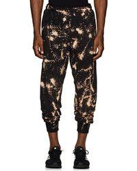Siki Im Bleached Cotton-blend Jogger Pants