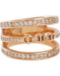 Hoorsenbuhs - Diamond & Rose Gold asset Ring - Lyst