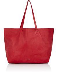 Mansur Gavriel - Oversized Leather Tote Bag - Lyst
