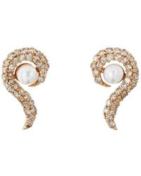 Ileana Makri - Y-d-pearl Flair Stud Earrings - Lyst