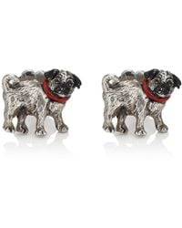 Barneys New York - Pug Cufflinks - Lyst