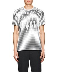 Neil Barrett - Lightning-bolt-print Cotton T - Lyst