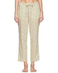 Sleepy Jones - Marina Lemon-print Cotton Pyjama Trousers - Lyst