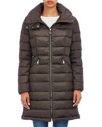 Moncler - Flammette Hooded Coat - Lyst