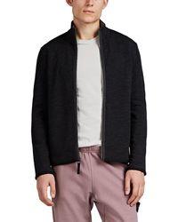 James Perse Y/osemite Wool-blend Zip-front Jacket - Black