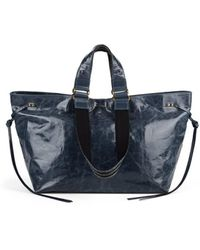 Isabel Marant - Wardy Leather Shopper Tote Bag - Lyst