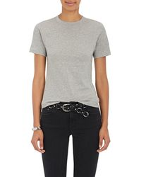 Acne Studios - Dorla Cotton T-shirt - Lyst