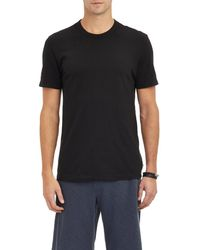 James Perse - Jersey Crewneck T-shirt - Lyst