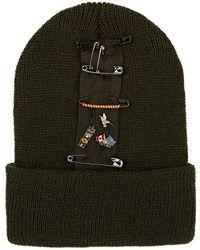 Albertus Swanepoel - Nancy Pin-embellished Wool Beanie - Lyst