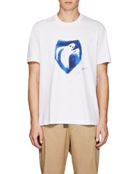 OAMC - Ghost-print Cotton T-shirt - Lyst