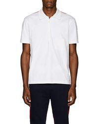 Thom Browne - Striped Cotton Polo Shirt - Lyst