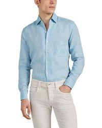 Loro Piana - Aloe-treated Slub Linen Shirt - Lyst
