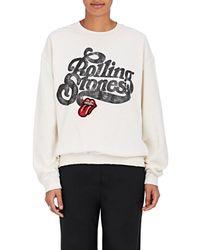 MadeWorn - Rolling Stones Sweatshirt - Lyst
