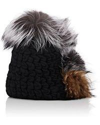 Mischa Lampert - Pohawk Fur Beanie - Lyst