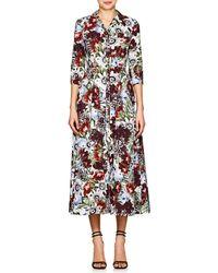 Erdem - Kasia Floral Cotton Shirtdress - Lyst