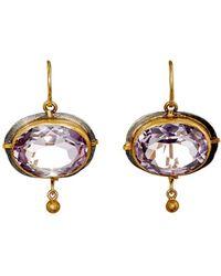 Judy Geib - Dangle Double-drop Earrings - Lyst
