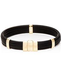 Zadeh Brant Bracelet - Metallic