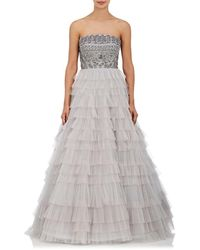 J. Mendel - Embroidered Tiered - Lyst