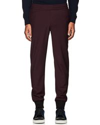 PS by Paul Smith - Wool Jogger Trousers - Lyst